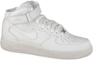 Nike Sneakers Air Force 1 Mid 07 315123-111 White 45.5