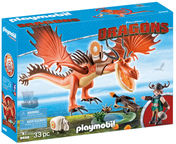 Playmobil Dragons Snotlout & Hookfang 9459