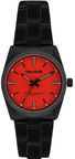 Zadig & Voltaire ZVF220 Red Dial/Black Stainless Steel Bracelet Watch