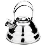 Mayer&Boch Whistling Kettle Silver 3.2l