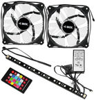 IBox 2xRGB 12 cm Fan Set