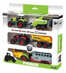 Dromader Farm Set Trailer Tractors 02438