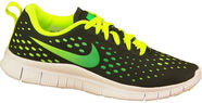 Nike Running Shoes Free Express Gs 641862-005 Black 38.5