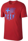 Nike T-Shirt FC Barcelona Crest 832717-687 Red M