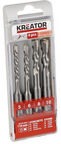 Kreator SDS Concrete Drill Set 5, 6, 8, 10x110mm 4PCS