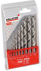 Kreator Metal HSS Drill Set 1 - 10mm 10PCS