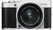 Fujifilm X-A5 Mirrorless Camera + 15-45mm Lens Silver/Black