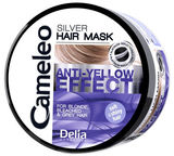 Delia Silver Hair Mask For Blond Bleached Grey Hair Anti Yellow Effect 200ml