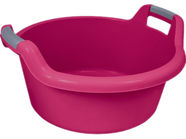 Curver Round Bowl With Handles 27L Pink