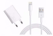 Apple Original USB Wall Charger + Apple Lightning Cable White