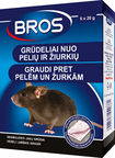 Bros Grains Against Rats/Mice 120g