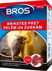 Bros Briquettes Against Mice/Rats Wax Block 100g