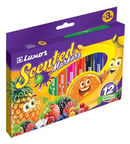 Luxor Scented Markers 12pcs 3065