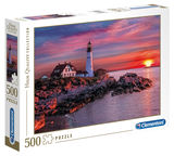 Clementoni High Quality Puzzle Portland Head Light 500pcs 35049