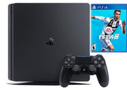 Sony Playstation 4 (PS4) Slim 1TB Black + FIFA 19