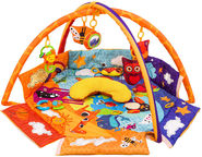 KinderKraft Interactive Educational Mat Animals Planet