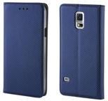 TakeMe Smart Magnetic Fix Book Case For Samsung Galaxy J4 Plus J415 Dark Blue