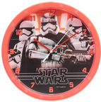 Verners Wall Clock Star Wars 25cm Red
