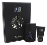 Thierry Mugler Amen Rubber 50ml EDT + 50ml Hair & Body Shampoo New Design