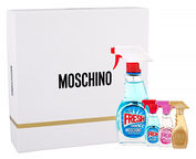 Moschino Fresh Couture 50ml EDT + 5ml EDT + 5ml Pink Fresh Couture EDT + 5ml Gold Fresh Couture EDT