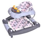 EcoToys Baby Walker Educational Roller-Skating J-888R Grey