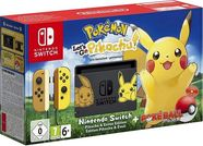 Nintendo Switch plus Pokemon Let's Go Pikachu plus Poke Ball