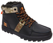 DC Shoes Woodland Lace-Up Boots Black/Multi 46