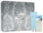 Dolce & Gabbana Light Blue 50ml EDT + 100ml Body Cream New Design