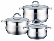 Peterhof Big Belli Casserole With Lid Set 3pcs PH-15236