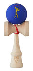 Krom Kendama X Chari Muscle Purple
