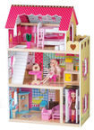 EcoToys Raspberry Residence with Elevator with 2 Dolls 4120