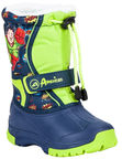 American Club Boots 54502 Blue & Green 27