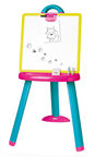 Smoby Plactic Schoolboard Drawing Magnetic Board 2 Sides Pink