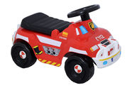 Plasto Plastic Red Fire Truck Ride On