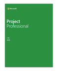 Microsoft Project Pro 2019 Electronic Licence Multilingual