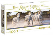 Clementoni Panorama Puzzle High Quality Running Horses 1000pcs