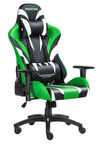 Warrior Chairs Monster Gaming Chair Black/Green