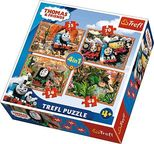 Trefl 4-in-1 Puzzle Thomas And Friends 35/48/54/70pcs
