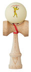 Krom Kendama X Chari Muscle Maple Cream