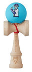 Krom Kendama X Chari Baseball Maple Blue