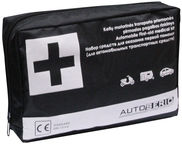 Autoserio First Aid Medical Kit Black