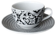 Claytan Gracewins Tea Cup And Saucer 25cl