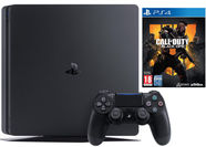 Sony Playstation 4 (PS4) Slim 500GB Black + Call of Duty: Black Ops 4