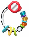 Bkids Disc Rattle With Mirror