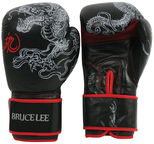 Bruce Lee Boxing Gloves Dragon Black 12oz