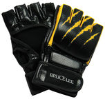 Bruce Lee Fighting Gloves Black L