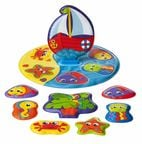 Playgro Floaty Boat Bath Puzzle 0186379