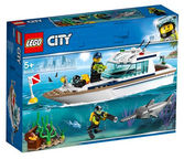 LEGO City Great Vehicles Diving Yacht 60221