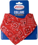Record Nylon Collar With Bandana Red 1x20/30cm
