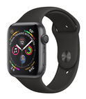 Apple Watch Series 4 44mm Aluminium Space Gray/Black Band